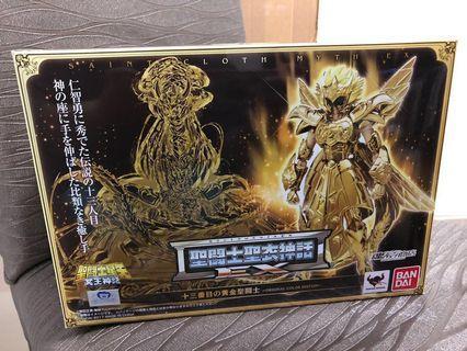 已開(日版)BANDAI 魂SHOP限定 聖鬥士星矢 EX蛇夫座 第十三黃金聖鬥士 有啡盒