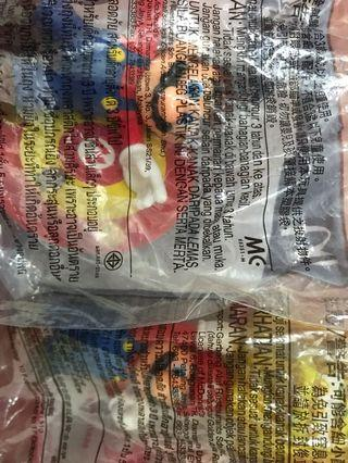 RM15 for 2!! Mcd Mario Cap Thrower & Power Up Block