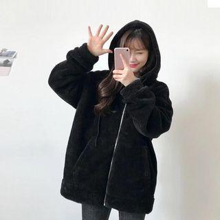 INSTOCK ulzzang oversized hoodie jacket