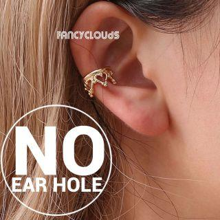 No-piercing Earcuff ; No need ear holes to achieve cool trendy preppy punk rock look ; Unisex - for guys and girls