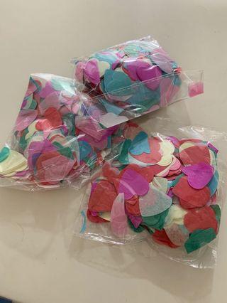 🚚 Confetti Hearts