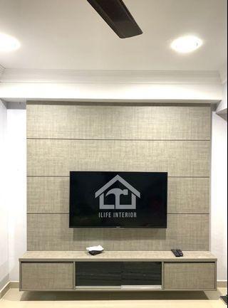 TV Cabinet built in murah