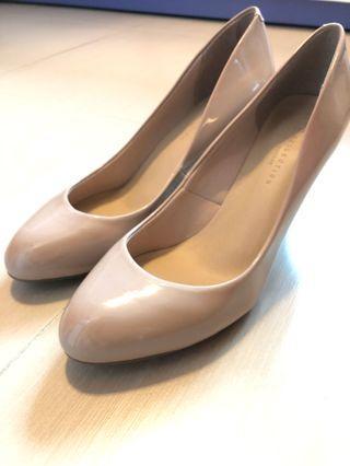M&S beige high heels 馬莎裸色高跟鞋