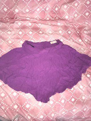 Small purple skirt
