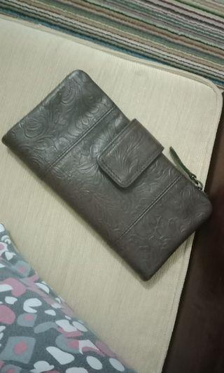 Dompet kulit asli