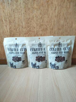 Curated Cuts Grass Fed Beef Dog Treats