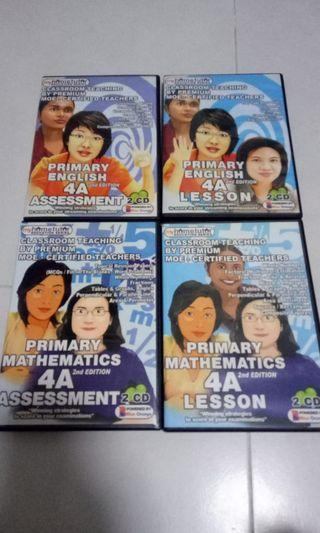 🚚 My home tutor CDs for primary 4
