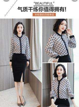 Soft material blouse brand new