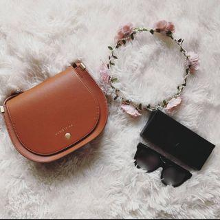 Mini Sling Bag Charles Keith grade Super A Readystok uollz siap gift