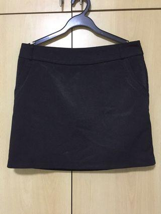 🚚 Casual/Office Black Skirt