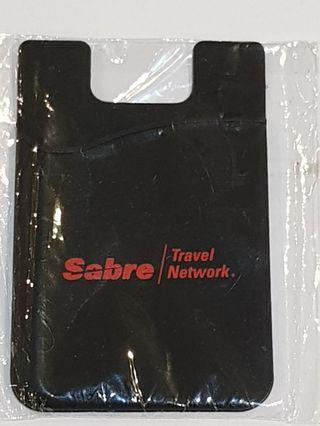 Mobile phone card holder