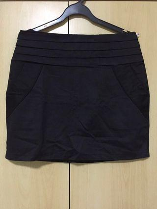 🚚 Black Office/Casual Black Skirt