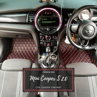 Mini Cooper S 2.0 Tailor made to fit Luxury car mat