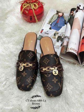 Korea half shoes 35-40 soft leather