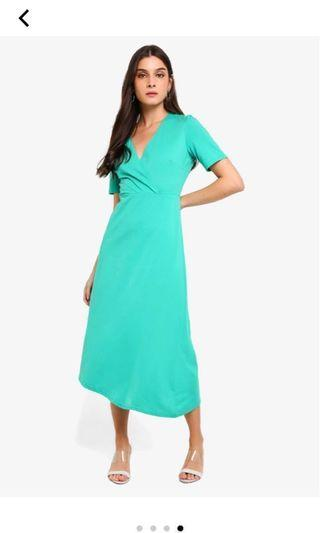 Zalora asymmetric hem dress #SSV8