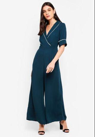 Zalora piping detail jumpsuit #SSV8