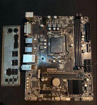 Gigabyte  B150M D2VX Gaming Motherboard Socket 1151