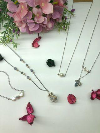 Handmade Necklace - Pearl Necklaces