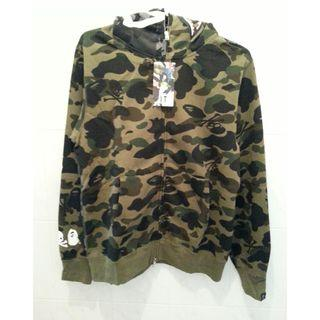 Mastermind/A Bathing Ape-Max Overcoat-Made in Japan
