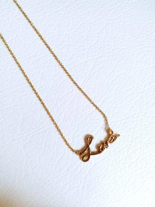 ♡Love♡ Wordings 項鏈 Necklace