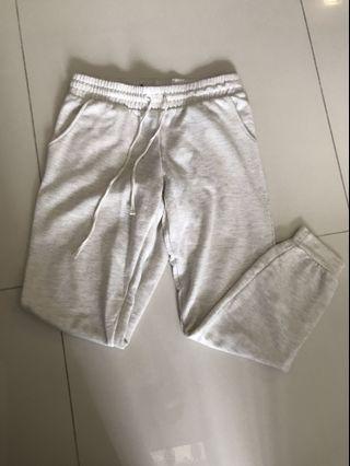 INSTOCK factorie white-light grey ish sweatpants