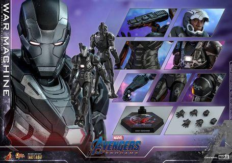 *PO* Hot Toys MMS530D31 Movie Masterpiece Series Diecast Avengers: Endgame – 1/6th scale War Machine Collectible Figure Mark 6 Diecast