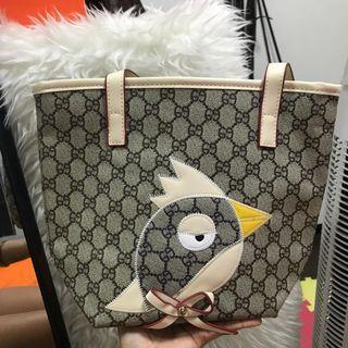 Small Tote Bag bird