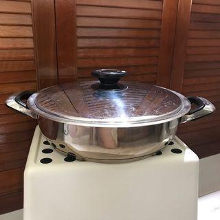 Bavaria Stainless Steel Steamboat Pot or Saucepan