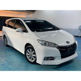 正2011年 最熱銷白色入場Toyota Wish 2.0E   真的只賣27.8萬