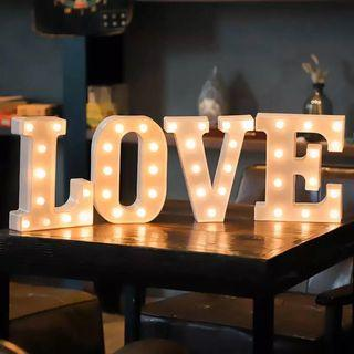 [Rent] LOVE Letters LED Marquee Lights