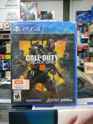 🆕 PS4 Call of Duty Black Ops 4