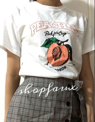 🇰🇷 MADE IN KOREA white peaches tee