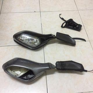 sym new evo symphony 250i side mirror parts