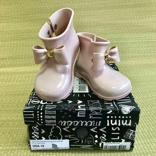 🚚 BN Mini Melissa Sugar Rain Bow Boots Shoes US10 (2018)