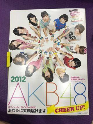 🚚 Akb48 選拔12人 2012豪華年曆組