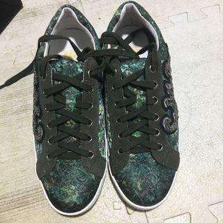 ASH 意大利釘珠繍花sneakers