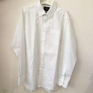 Marks & Spencer White Stripe Shirt (Kemeja Pria)