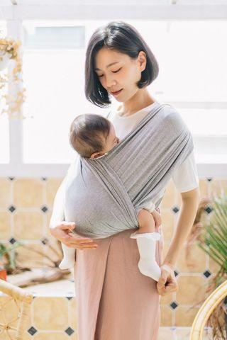 Konny baby carrier grey size M