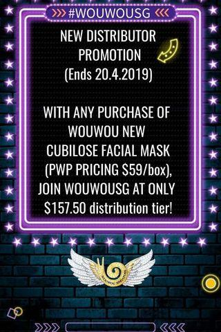 Wouwou distributor promotion!