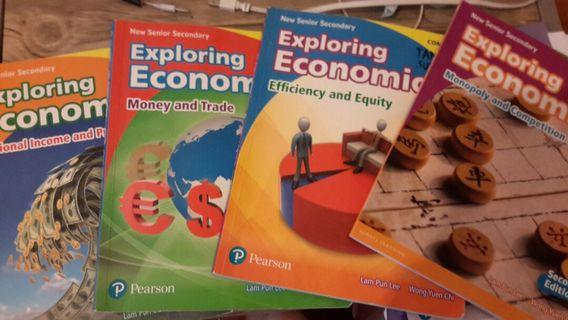 Exploring economics pearson secondary five  4本+ exam practice x1
