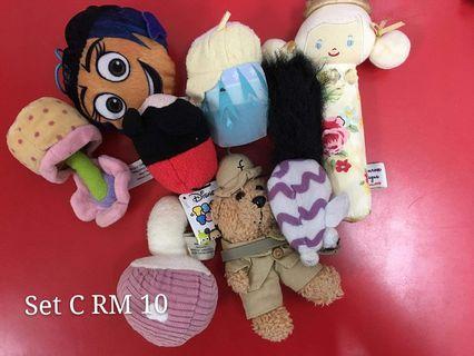 Soft toys set C