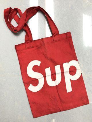 Supreme Red Tote Bag (Supreme Book Vol.4 Gift)