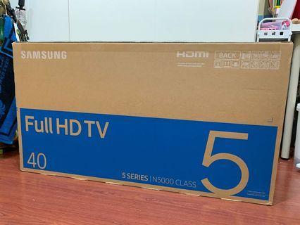 Samsung TV 40 inches. Full HD tv. N5000 (series 5)