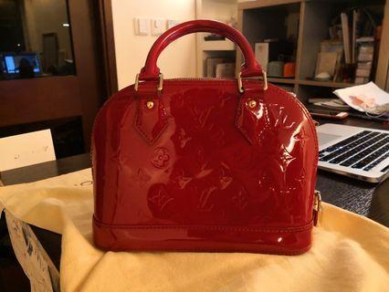 LV ALMA BB Red #MILAN02