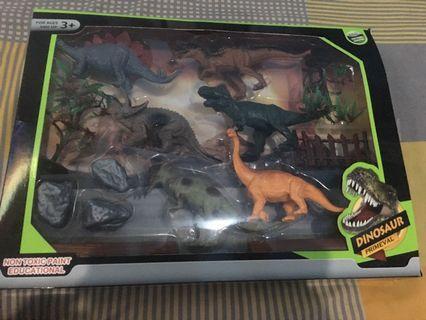 Dinosaurs 1set