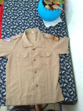 Baju polisi untuk anak 4-7 th