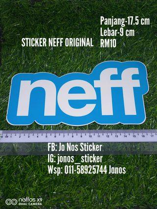 Sticker neff original