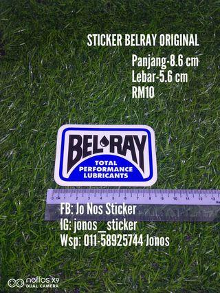 Sticker belray original