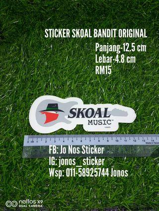 Sticker skoal music original
