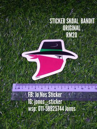 Sticker skoal bandit original